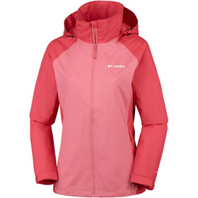 Columbia Tapanga Trail Veste Femme, coral bloom